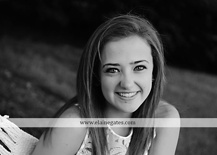central pa senior portrait photographer brick wall stone road fence tree stream creek water hammock swing ow 5