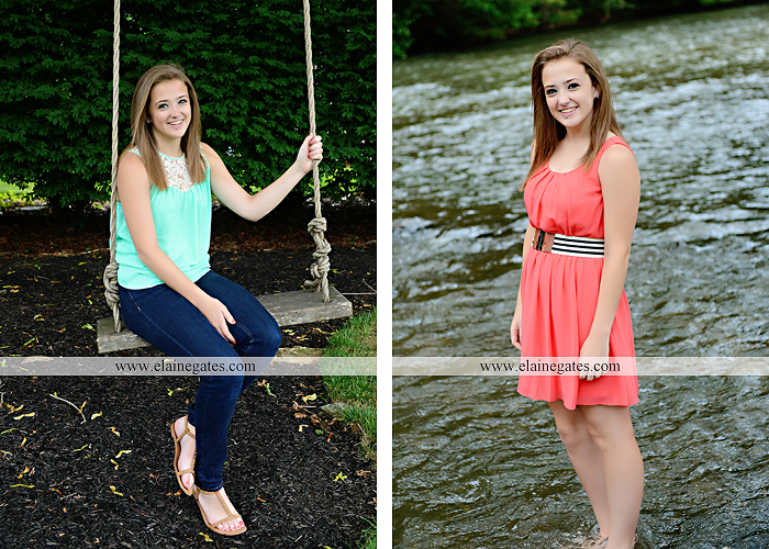 central pa senior portrait photographer brick wall stone road fence tree stream creek water hammock swing ow 6