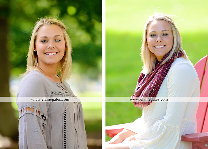 central pa senior portrait photographer stone wall fence grass dickinson college adirondack chair ew 3