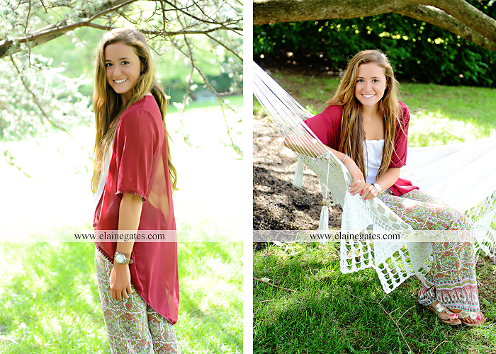 central pa senior portrait photographer trees hammock brick wall bench wildflowers water stream creek sunflowers fence road ts 1