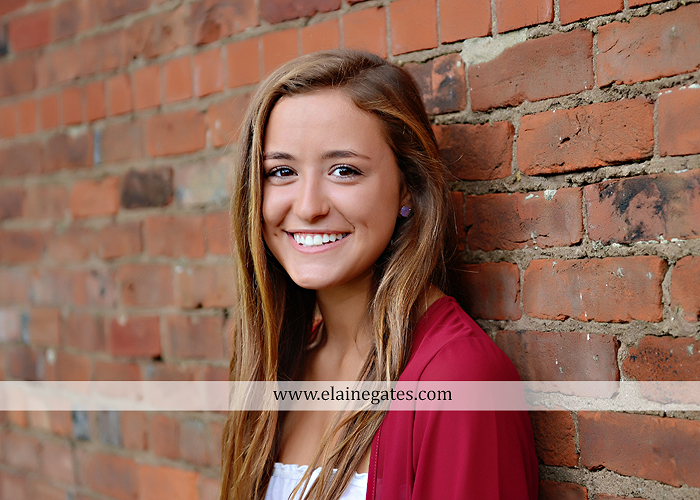 central pa senior portrait photographer trees hammock brick wall bench wildflowers water stream creek sunflowers fence road ts 2