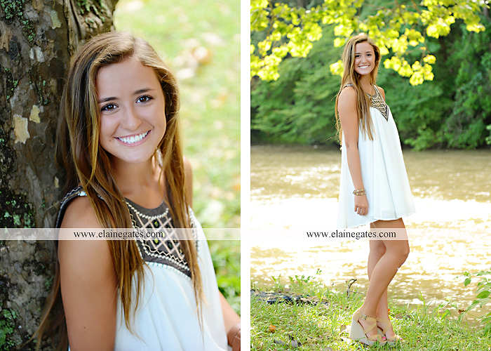 central pa senior portrait photographer trees hammock brick wall bench wildflowers water stream creek sunflowers fence road ts 4