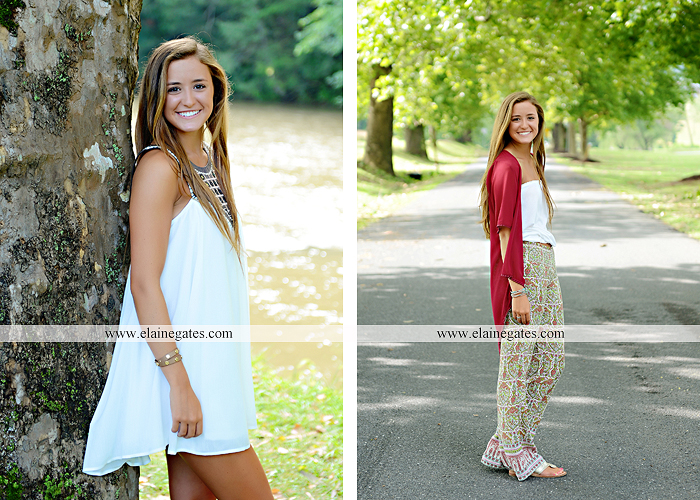 central pa senior portrait photographer trees hammock brick wall bench wildflowers water stream creek sunflowers fence road ts 8