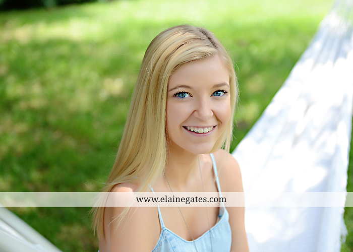 central pa senior portrait photographer water stream creek fence hammock hay bale swing sunflowers wildflowers jw 7