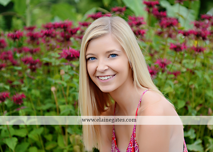 central pa senior portrait photographer water stream creek fence hammock hay bale swing sunflowers wildflowers jw 8