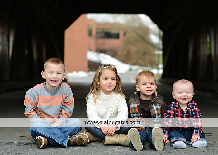 Mechanicsburg Central PA portrait photographer family outdoor kids father mother son daughter brother sister covered bridge holding hands kiss hug baby boy girl kkds 10
