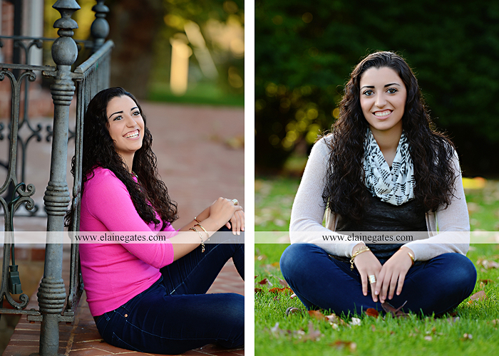 Mechanicsburg Central PA senior portrait photographer outdoor grass field fence city urban leaves brick stone wall steps bridge railroad tracks rocks ss 1