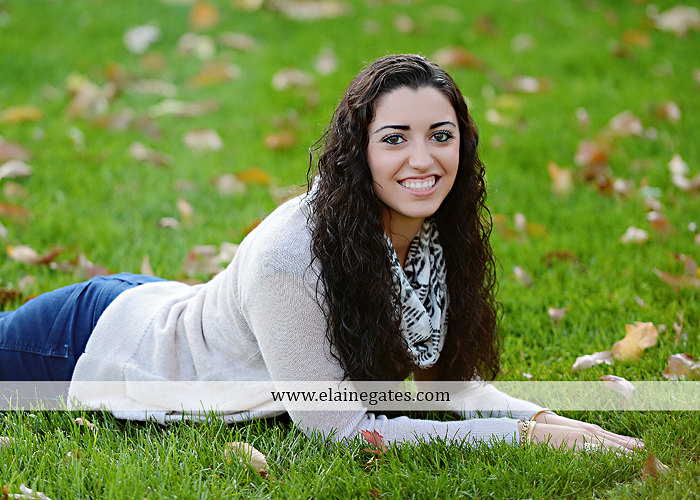 Mechanicsburg Central PA senior portrait photographer outdoor grass field fence city urban leaves brick stone wall steps bridge railroad tracks rocks ss 2