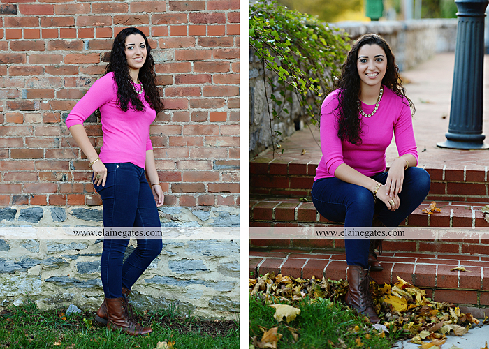 Mechanicsburg Central PA senior portrait photographer outdoor grass field fence city urban leaves brick stone wall steps bridge railroad tracks rocks ss 3