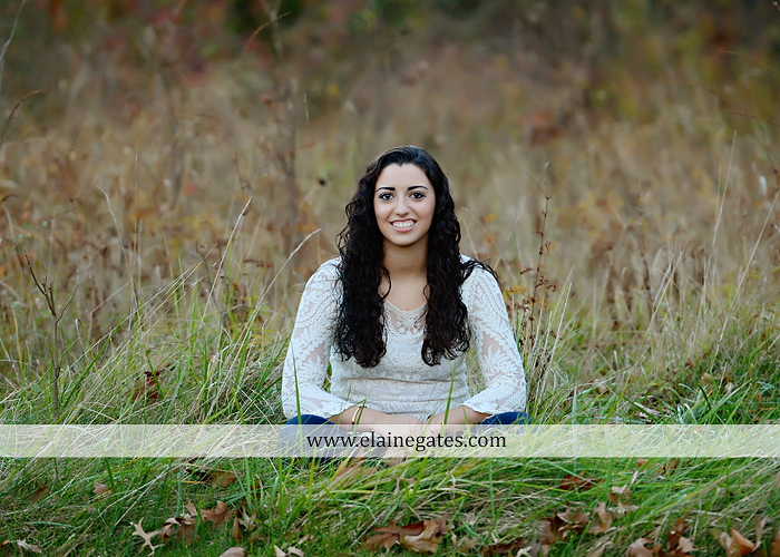 Mechanicsburg Central PA senior portrait photographer outdoor grass field fence city urban leaves brick stone wall steps bridge railroad tracks rocks ss 8