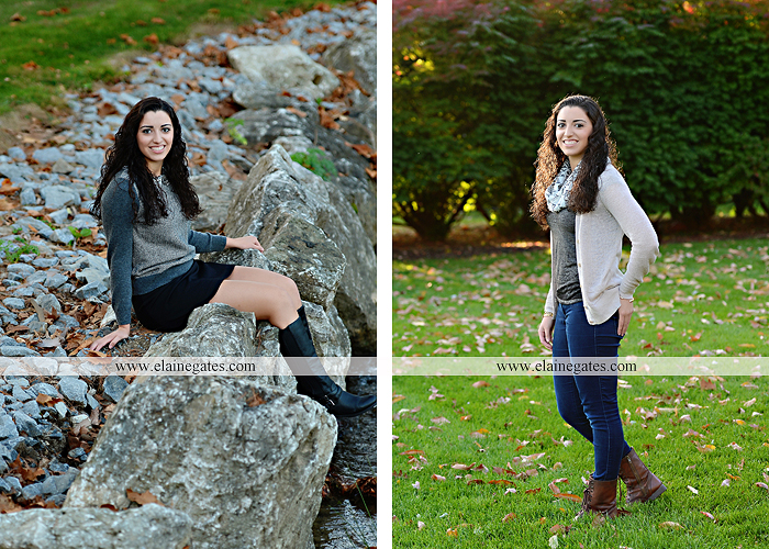Mechanicsburg Central PA senior portrait photographer outdoor grass field fence city urban leaves brick stone wall steps bridge railroad tracks rocks ss 9