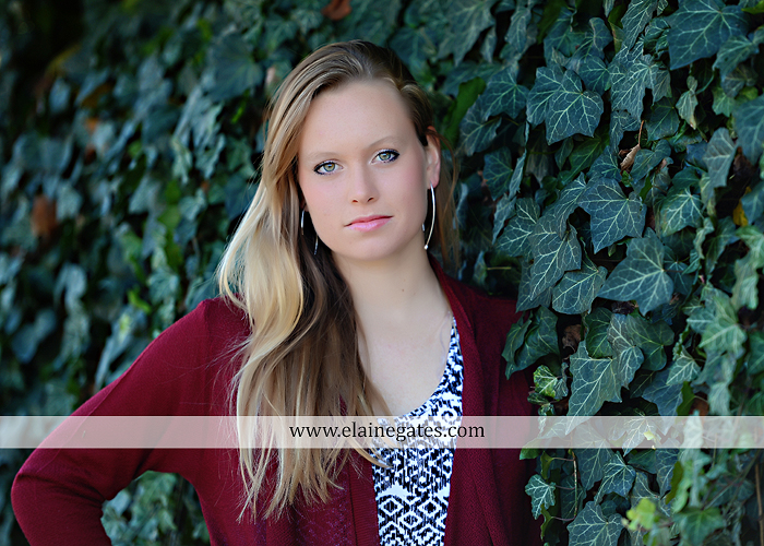 Mechanicsburg Central PA senior portrait photographer outdoor grass field leaves fall stone rock wall ivy fence mm 7