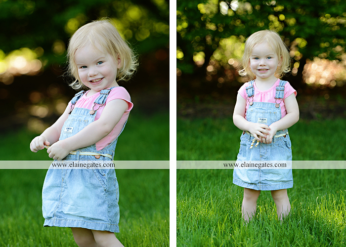 Mechanicsburg Central PA portrait photographer children kids girl outdoor bench grass rope swing overalls 2 year old az 2