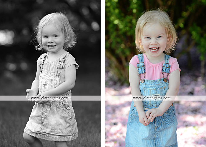 Mechanicsburg Central PA portrait photographer children kids girl outdoor bench grass rope swing overalls 2 year old az 6