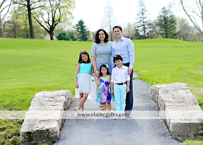 Mechanicsburg Central PA portrait photographer family father mother daughter son boy girls parents husband wife kids grass path trees stone bridge water creek stream golf course sl 4