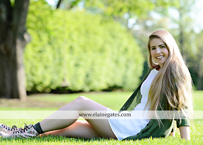 Mechanicsburg Central PA senior portrait photographer outdoor grass trees bushes field wildflowers suitcase rails brick stone wall urban st 1