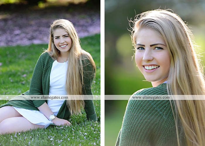 Mechanicsburg Central PA senior portrait photographer outdoor grass trees bushes field wildflowers suitcase rails brick stone wall urban st 11