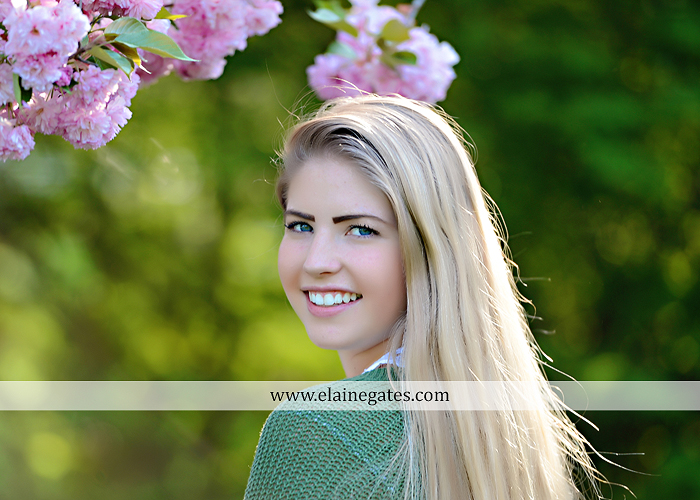 Mechanicsburg Central PA senior portrait photographer outdoor grass trees bushes field wildflowers suitcase rails brick stone wall urban st 12