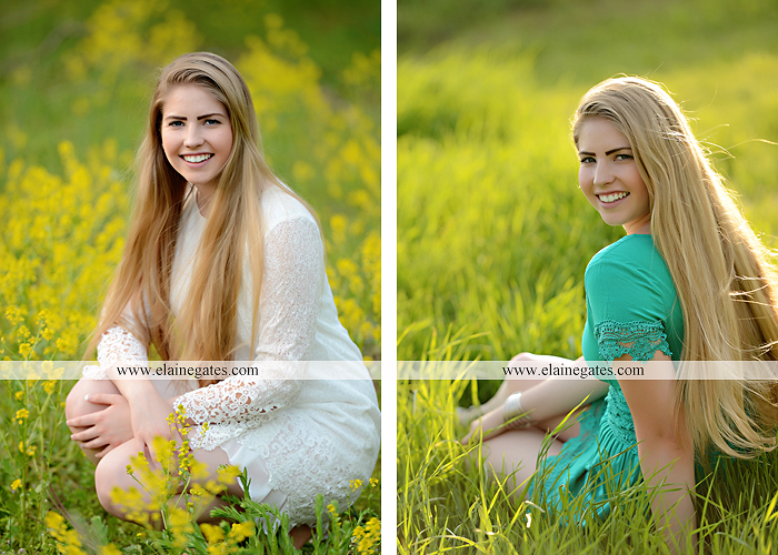 Mechanicsburg Central PA senior portrait photographer outdoor grass trees bushes field wildflowers suitcase rails brick stone wall urban st 2