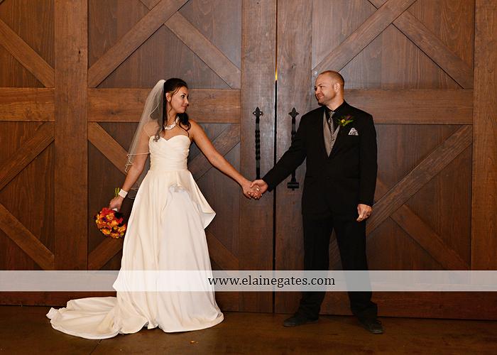 The Inn at Leola Village Wedding Photographer Lancaster Genevieve Men's Warehouse purple orange yellow red 21
