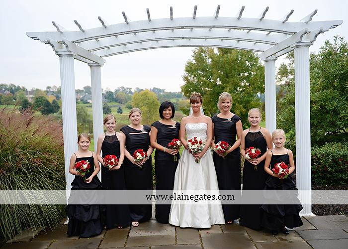Heritage Hills Golf Resort Wedding Photographer October Rainy Day Red Black White York PA Klock Entertainment Hammaker Flowers JKM Productions Cinderella Shoppe Men's Wearhouse David's Bridal 27