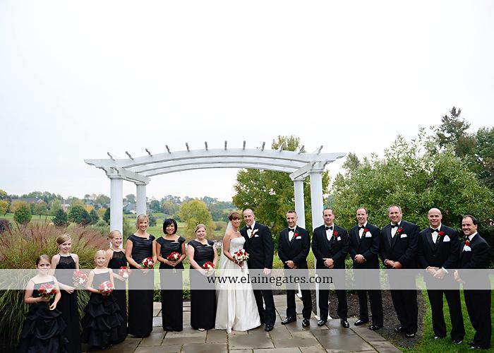 Heritage Hills Golf Resort Wedding Photographer October Rainy Day Red Black White York PA Klock Entertainment Hammaker Flowers JKM Productions Cinderella Shoppe Men's Wearhouse David's Bridal 28