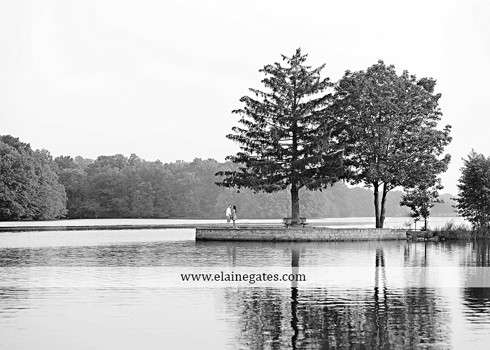 Mechanicsburg Central PA portrait photographer engagement outdoor couple water trees grass field dock water lake fishing lure boat holding hands picnic basket kiss path ph 12