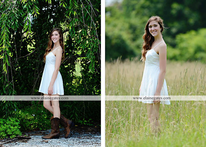 Mechanicsburg Central PA senior portrait photographer outdoor girl female field trees wood wall rustic barn door formal jeep wrangler grass wildflowers hammock swing mz 01
