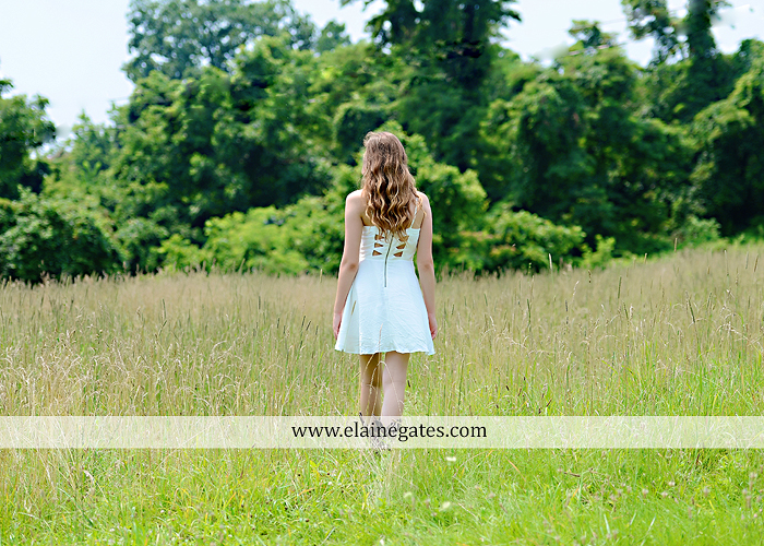 Mechanicsburg Central PA senior portrait photographer outdoor girl female field trees wood wall rustic barn door formal jeep wrangler grass wildflowers hammock swing mz 02
