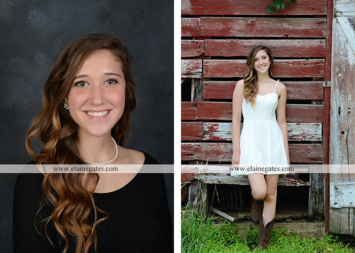 Mechanicsburg Central PA senior portrait photographer outdoor girl female field trees wood wall rustic barn door formal jeep wrangler grass wildflowers hammock swing mz 04