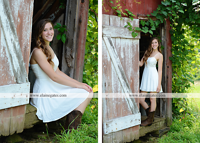 Mechanicsburg Central PA senior portrait photographer outdoor girl female field trees wood wall rustic barn door formal jeep wrangler grass wildflowers hammock swing mz 05