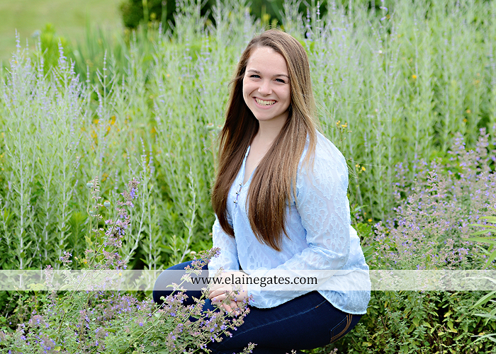 Mechanicsburg Central PA senior portrait photographer outdoor girl female wooden swing field wildflowers wood wall road trees hammock steel bench go 07