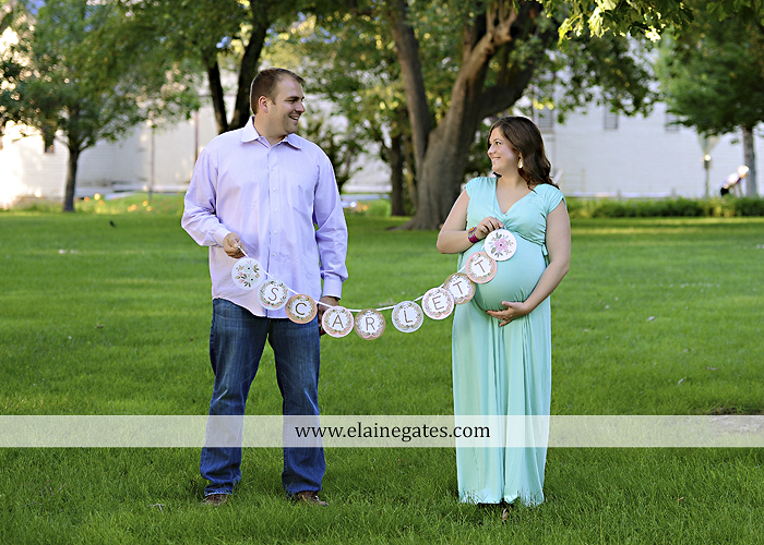 Mechanicsburg Central PA portrait photographer maternity outdoor trees grass holding hands baby girl pink converse shoes 6