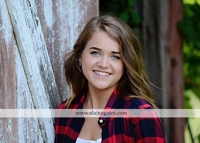 Mechanicsburg Central PA senior portrait photographer outdoor girl female fence trees woods field wooden swing rustic barn door wildflowers black eyed susans grass metal bench 08