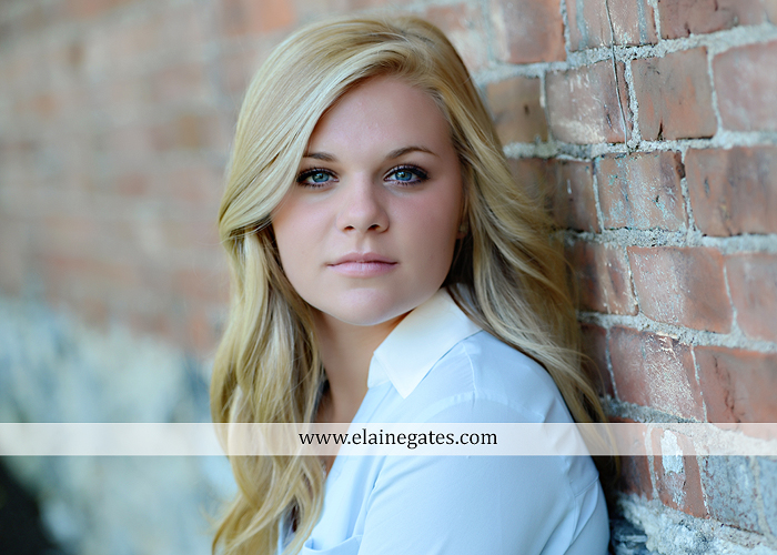 Mechanicsburg Central PA senior portrait photographer outdoor grass formal tree water stream creek fence field american flag usa ford pickup truck road brick wall stone wall wildflowers wooden swing 15