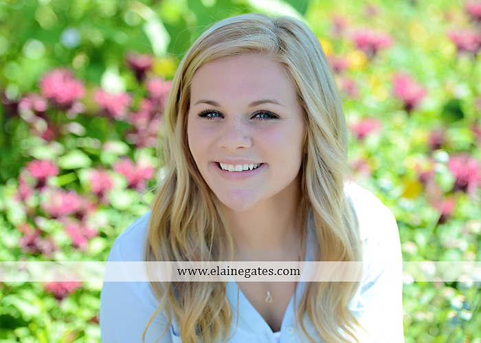 Mechanicsburg Central PA senior portrait photographer outdoor grass formal tree water stream creek fence field american flag usa ford pickup truck road brick wall stone wall wildflowers wooden swing 18