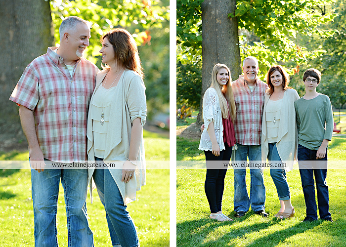 Mechanicsburg Central PA family portrait photographer outdoor carlisle dickinson college mother father sister brother parents dog trees grass stone wall adirondack chair mt 01