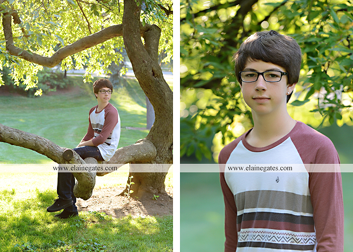 Mechanicsburg Central PA family portrait photographer outdoor carlisle dickinson college mother father sister brother parents dog trees grass stone wall adirondack chair mt 09