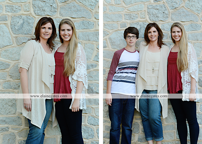 Mechanicsburg Central PA family portrait photographer outdoor carlisle dickinson college mother father sister brother parents dog trees grass stone wall adirondack chair mt 14