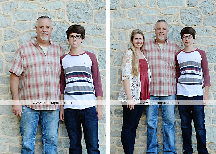 Mechanicsburg Central PA family portrait photographer outdoor carlisle dickinson college mother father sister brother parents dog trees grass stone wall adirondack chair mt 16