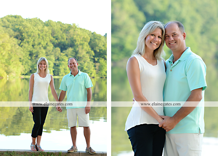 Mechanicsburg Central PA family portrait photographer outdoor mother father sisters brother parents dock water lake trees boat canoe path collage shirts pf 10
