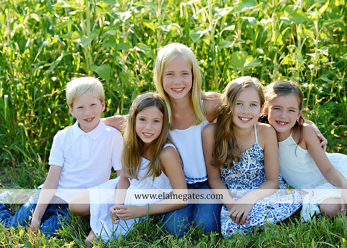 Mechanicsburg Central PA family portrait photographer outdoor girls boy sunflowers field forest trees path father mother cousins brother sister sisters siblings gf 03