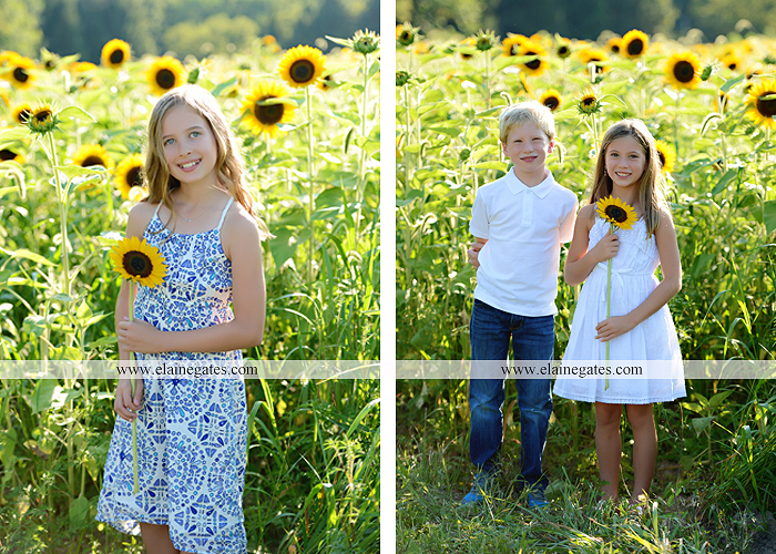 Mechanicsburg Central PA family portrait photographer outdoor girls boy sunflowers field forest trees path father mother cousins brother sister sisters siblings gf 05