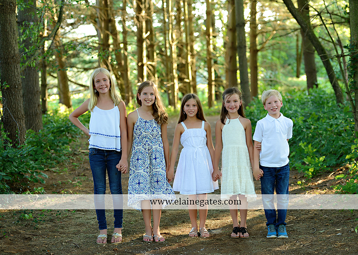 Mechanicsburg Central PA family portrait photographer outdoor girls boy sunflowers field forest trees path father mother cousins brother sister sisters siblings gf 08