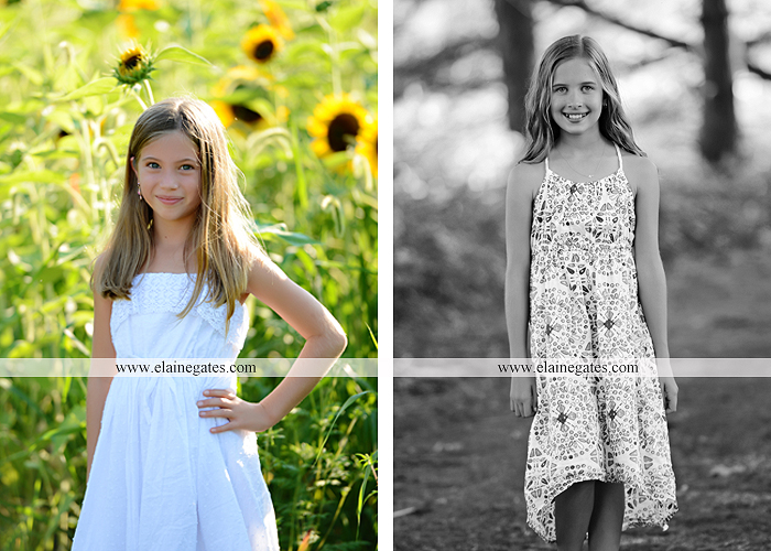 Mechanicsburg Central PA family portrait photographer outdoor girls boy sunflowers field forest trees path father mother cousins brother sister sisters siblings gf 10