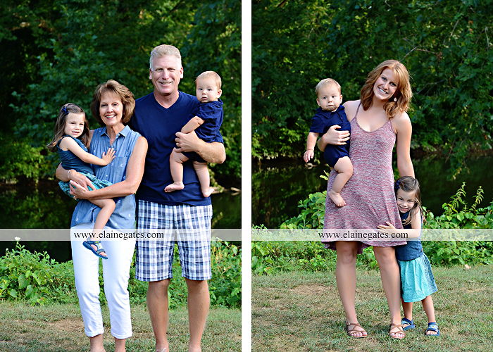Mechanicsburg Central PA family portrait photographer outdoor mother father sister parents children boy girl grandchildren toddler baby grass water creek stream sf 02