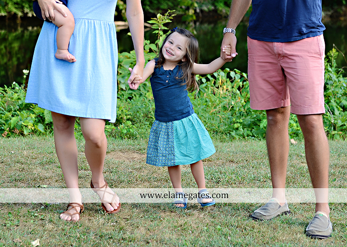 Mechanicsburg Central PA family portrait photographer outdoor mother father sister parents children boy girl grandchildren toddler baby grass water creek stream sf 04