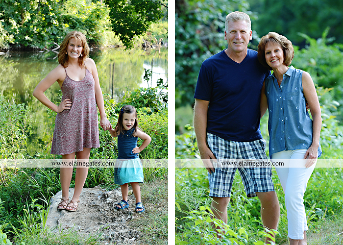 Mechanicsburg Central PA family portrait photographer outdoor mother father sister parents children boy girl grandchildren toddler baby grass water creek stream sf 08