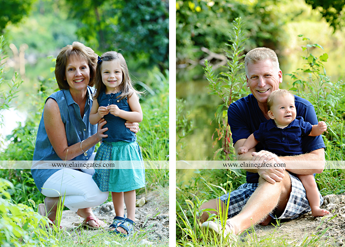 Mechanicsburg Central PA family portrait photographer outdoor mother father sister parents children boy girl grandchildren toddler baby grass water creek stream sf 10