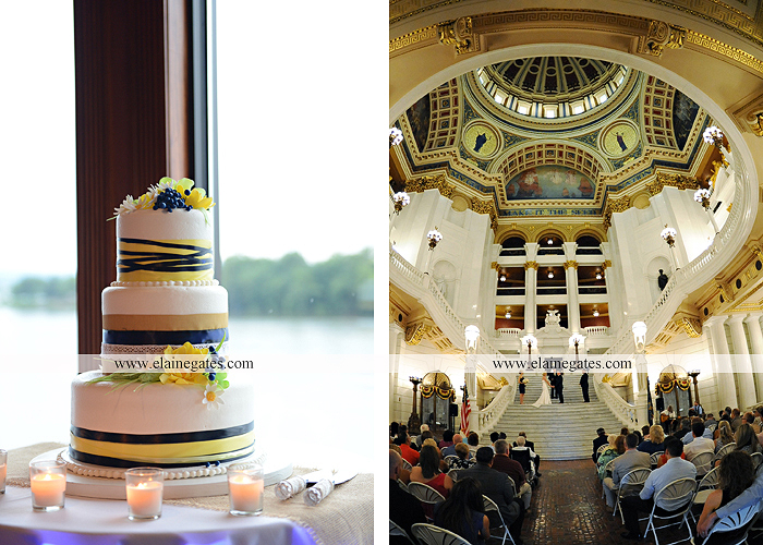 The Capital Rotunda Harrisburg pa wedding photographer the cake lady dukes riverside blue yellow white starlet 38